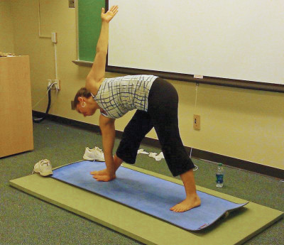 Reduce the stress of college by practicing yoga