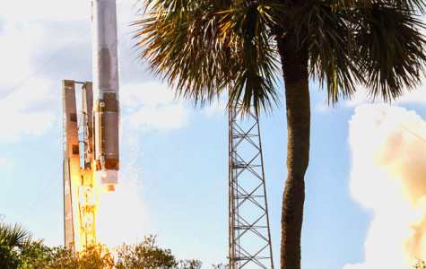 Early missile warning satellite launches from Cape Canaveral