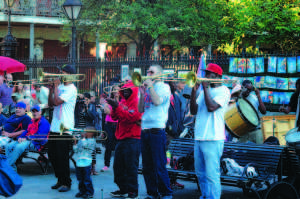 Jackson Square: the place to visit