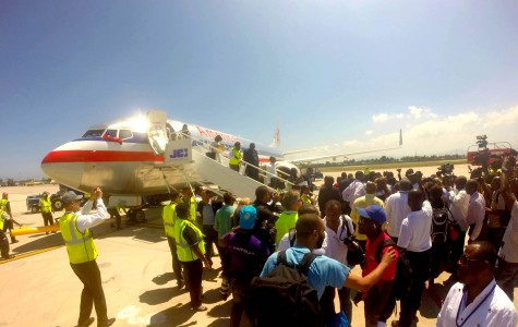 New flight of American Airline in the north Haiti
