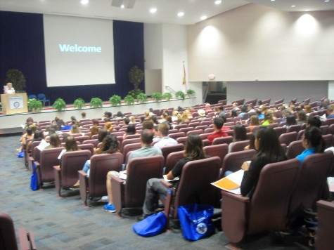 Welcome new nursing students