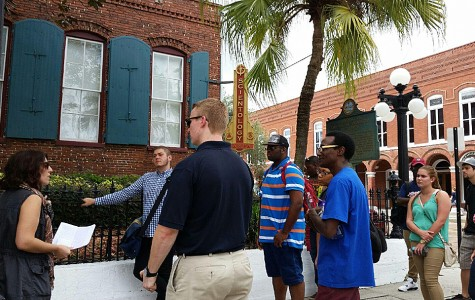 Class Takes a Walk Down History Lane