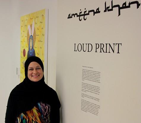 Local Tampa Artist, Ameena Khan, Offers a Peek Inside the Minds of Muslim Women