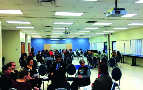 HCC students deliberate Climate Change
