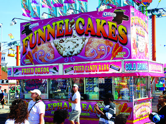 Funnel Cake is a crowd favorite at the Florida State Fair.