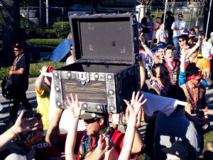 Seminole Hard Rock 2012 Gasparilla Parade
