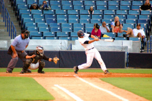 HCC wins big on Community Baseball Night