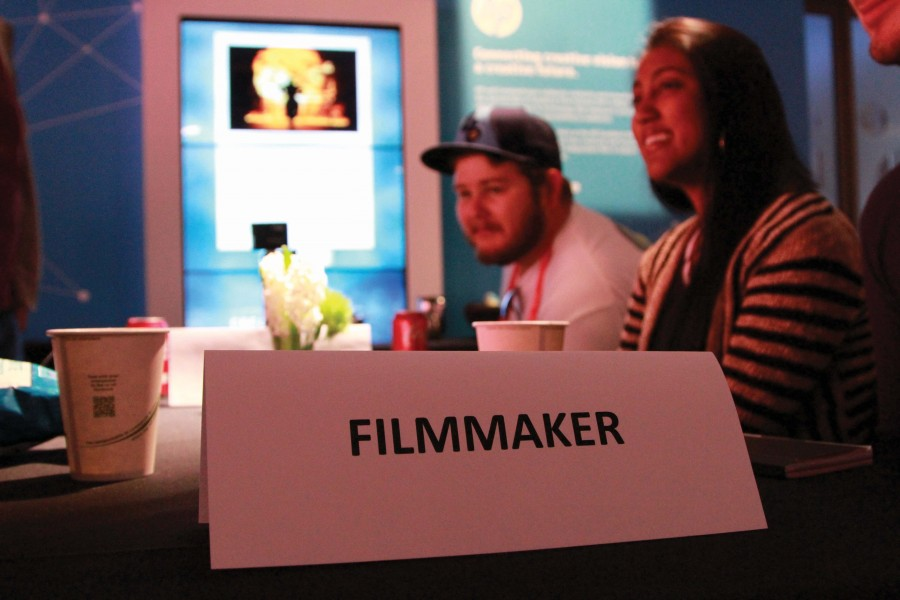 HCC students meet with filmmakers at the Sundance Film Festival.
