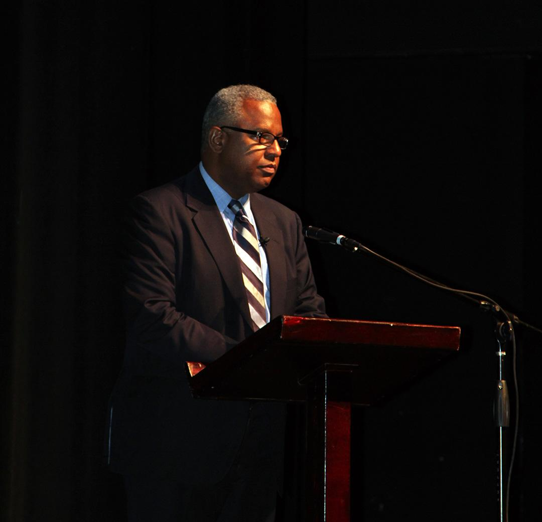 Clennon L. King spoke to the HCC about Florida's connection to the Civil Rights