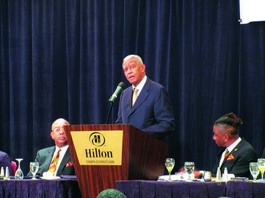 Dr. Otis Moss Jr. encourages people to continue to make a difference.