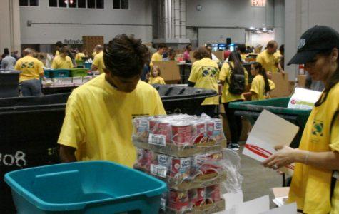 HCC student helps hurricane survivors