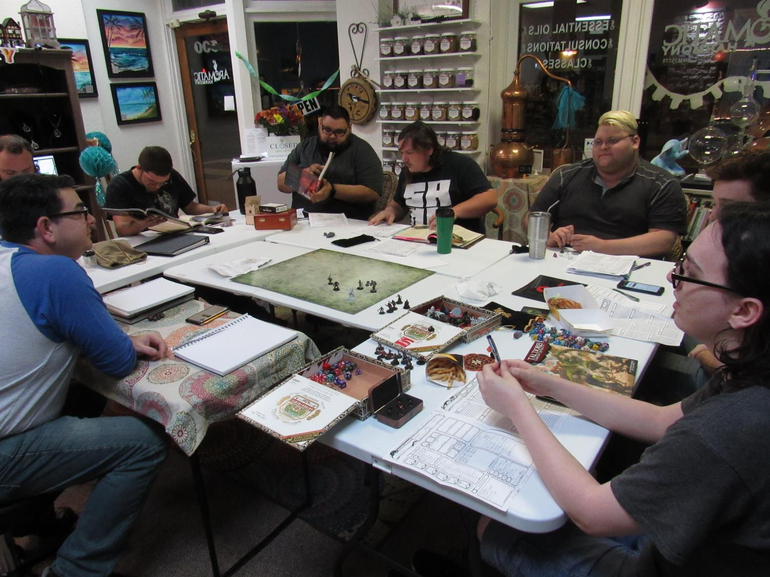 Plant City Gamers Guild on a campaign