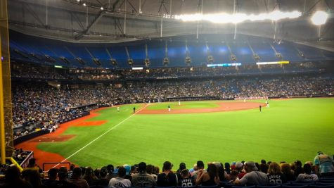 Tropicana Field: one of Tampa