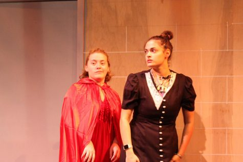 "Caitlin Frostman as Hannah and Amanda Rodriguez as Ash in ""Hierarchy of Fish"""