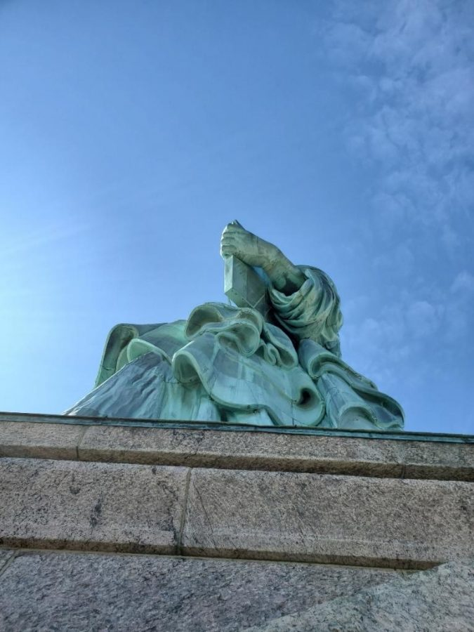 The Statue of Liberty, another landmark our staff toured prior to leaving New York City.